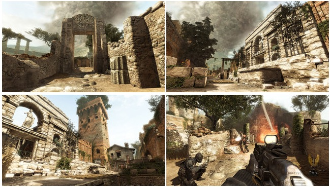 Mw3 Face Off Callouts For The Maps Aground Erosion