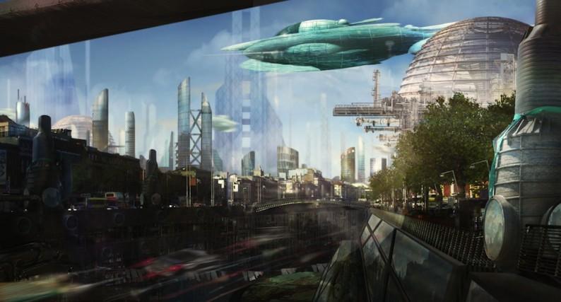 une ville dedi u00e9e aux technologies du futur