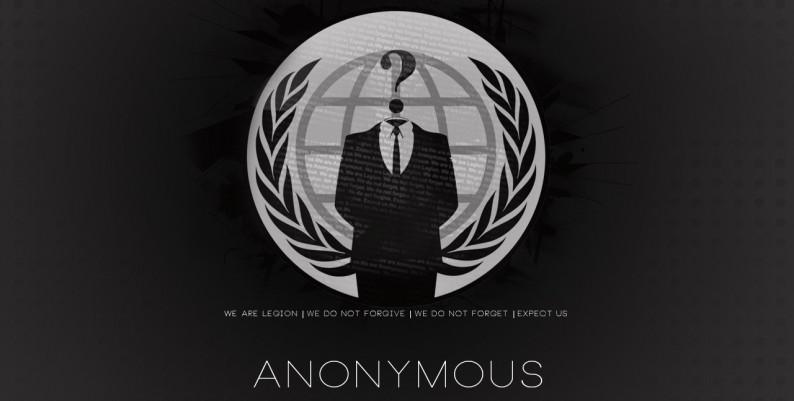 une agence web fran u00e7aise d u00e9pose le logo et le slogan d u0026 39 anonymous