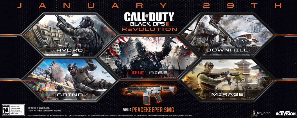 Revolution Le Nouveau Dlc De Black Ops 2 Presente En Video