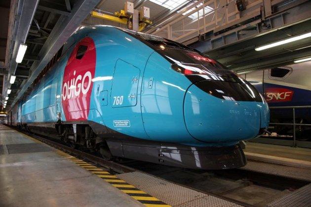 La sncf d voile ouigo le nouveau train low cost for Interieur ouigo