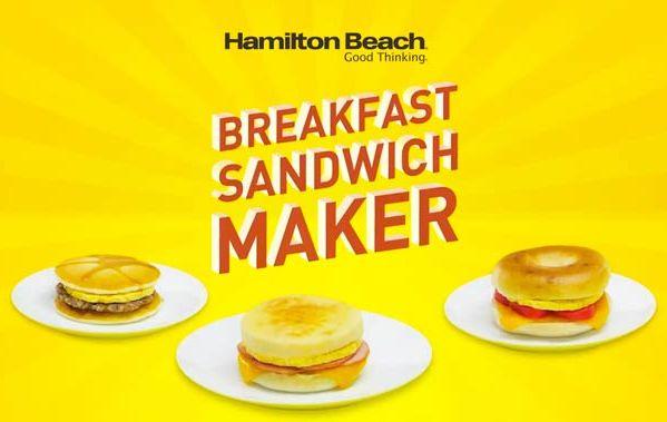 Breakfast Sandwich Maker Une Machine Pour Faire Le Petit