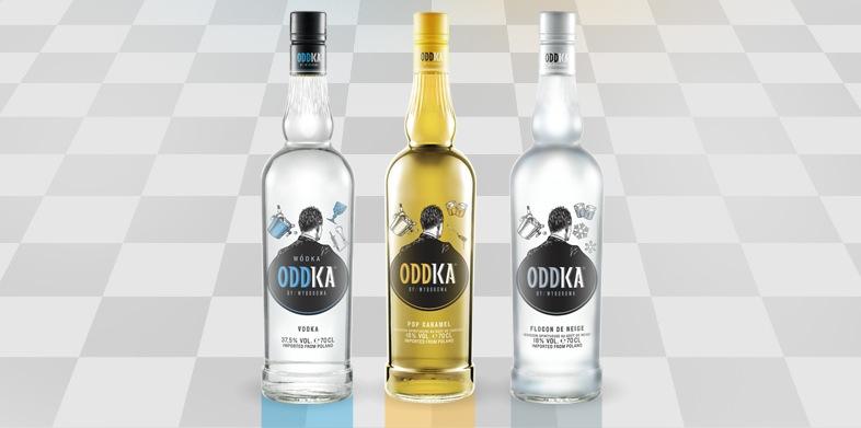 oddka la nouvelle marque de vodka qui d barque en france quozzy. Black Bedroom Furniture Sets. Home Design Ideas