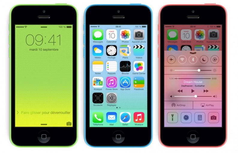 iPhone 5C Officiel