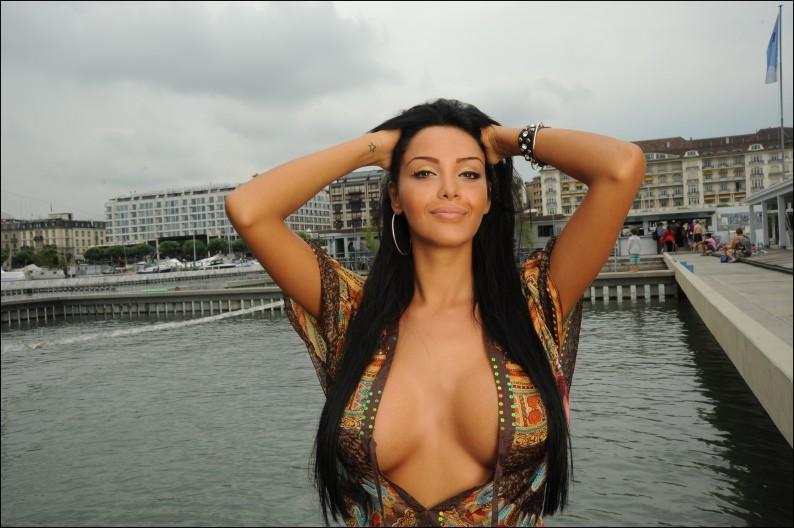 Nabilla Benattia the new star of Tv Reality in Geneva
