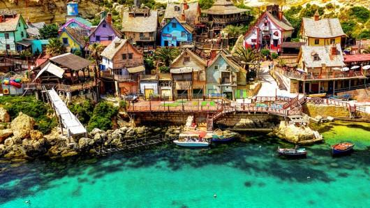 Popeye Village - Plus Beaux Villages Du Monde