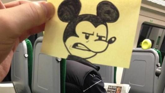De petits dessins pour s'occuper dans le train
