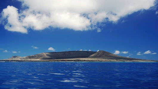 Une nouvelle île vient d'apparaître dans le Pacifique